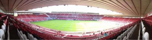 Riverside Stadium, secção: 41, fila: 30, lugar: 133
