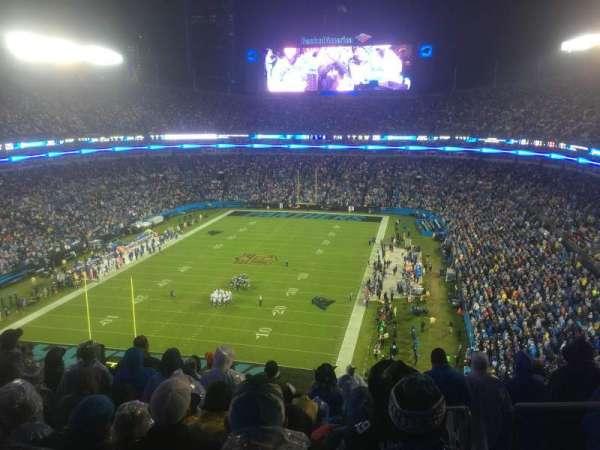 Bank of America Stadium, secção: 553, fila: 12, lugar: 2