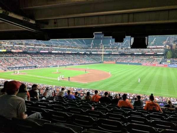 Oriole Park at Camden Yards, secção: 13, fila: 10, lugar: 15
