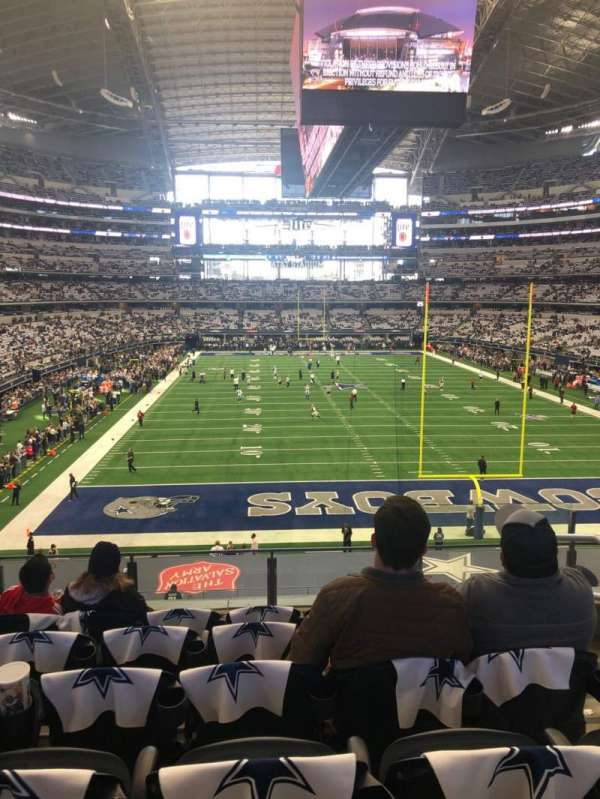 AT&T Stadium, secção: 249, fila: 6, lugar: 3