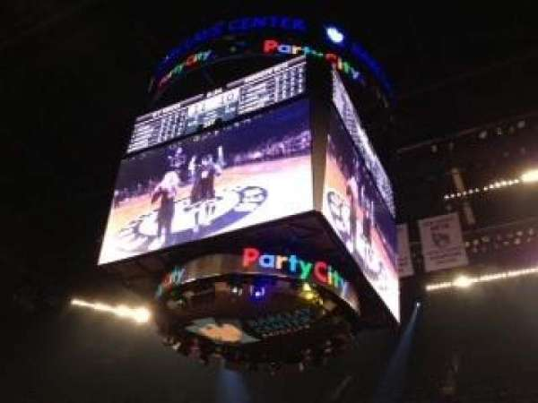 Barclays Center, secção: 7, fila: 4