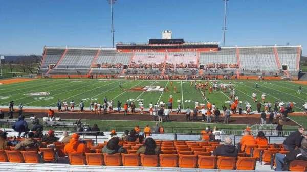 Doyt Perry Stadium, secção: 16, fila: 27, lugar: 20