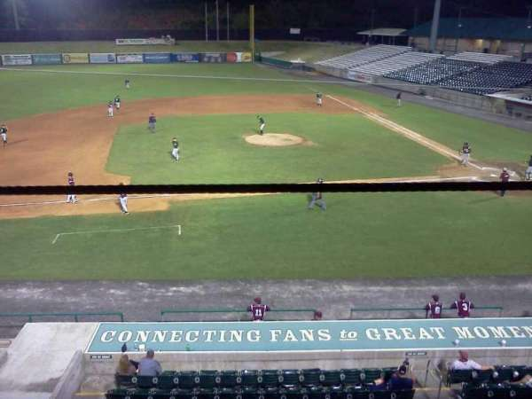 Smokies Park, secção: 3rd Base Patio