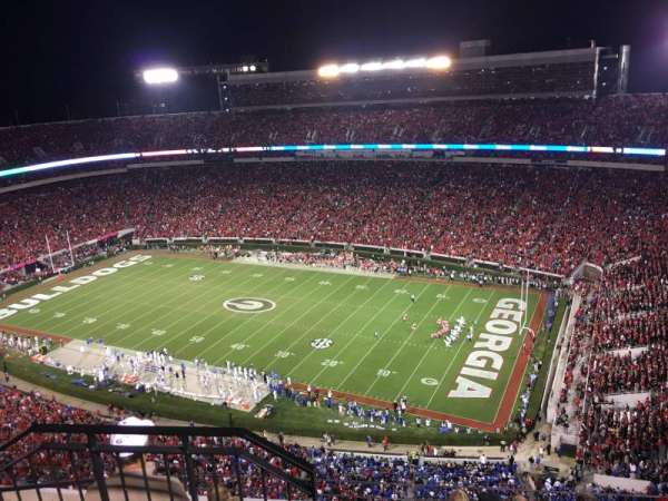 Sanford Stadium, secção: 602, fila: 6, lugar: 20