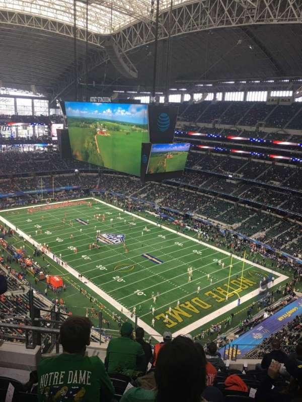 AT&T Stadium, secção: 404, fila: 17, lugar: 15