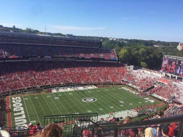 Sanford Stadium, secção: 611, fila: 13, lugar: 1
