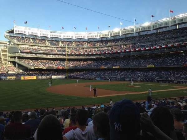 Yankee Stadium, secção: 127B, fila: 23, lugar: 6