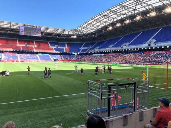 Red Bull Arena (New Jersey), secção: 102, fila: 4, lugar: 20