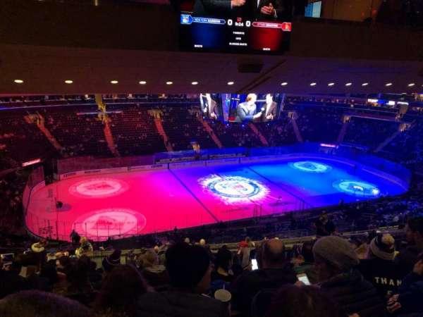Madison Square Garden, secção: 222, fila: 17, lugar: 9