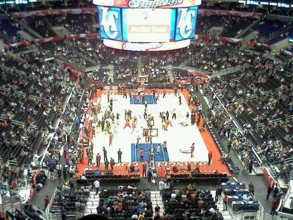 Staples Center, secção: 327, fila: 3, lugar: 3