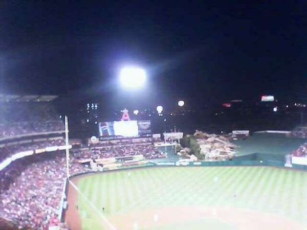 Angel Stadium, secção: 523