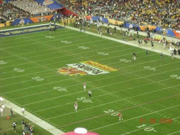 State Farm Stadium, secção: 434, fila: 8, lugar: 10