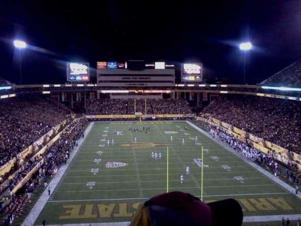Sun Devil Stadium, secção: 225, fila: 9, lugar: 11