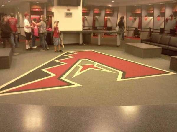 Chase Field, secção: Locker Room