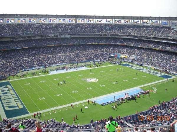 San Diego Stadium, secção: V61