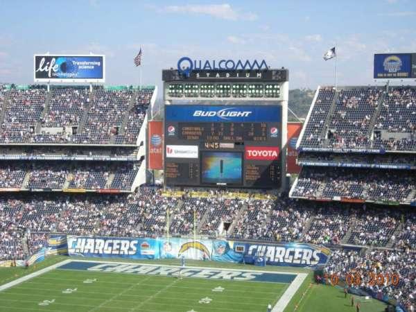 San Diego Stadium, secção: V25