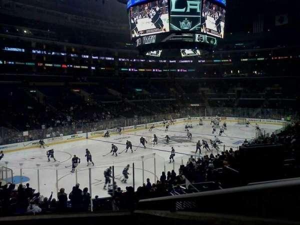 Staples Center, secção: PR9, fila: 4, lugar: 12