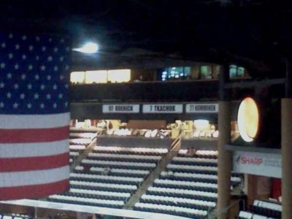 Gila River Arena, secção: 222, fila: O, lugar: 1