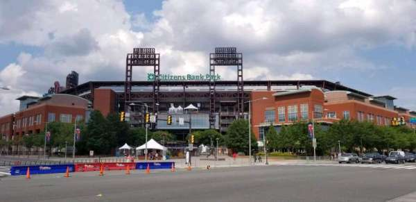 Citizens Bank Park, secção: Third Base Gate