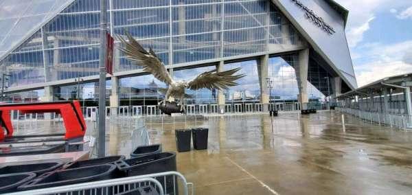 Mercedes-Benz Stadium, secção: Gate 2