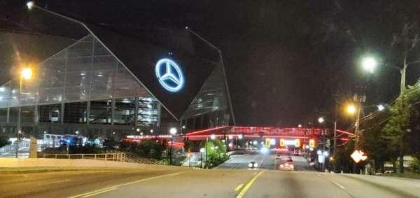Mercedes-Benz Stadium, secção: Gate 1
