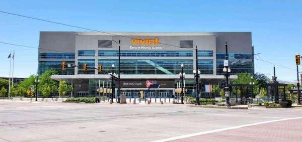 Vivint Arena, secção: Main Entry