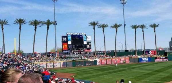 Goodyear Ballpark, secção: 105