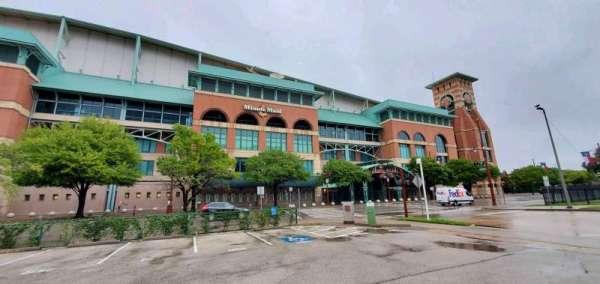 Minute Maid Park, secção: South Home Plate Entrance