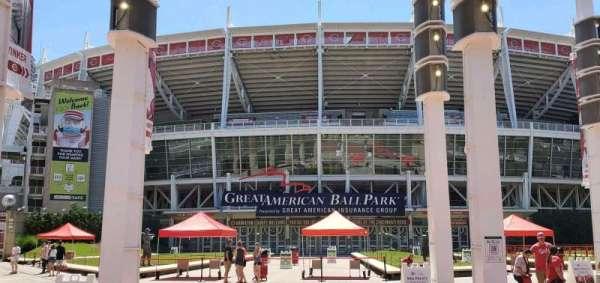 Great American Ball Park, secção: Gate A