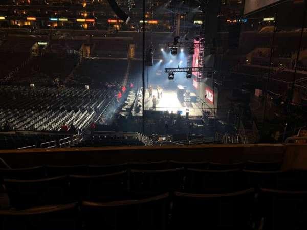 Staples Center, secção: PR3, fila: 5, lugar: 4-5