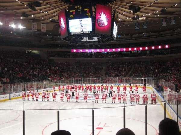 Madison Square Garden, secção: 103, fila: 8, lugar: 13