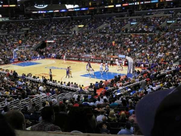 Staples Center, secção: PR10, fila: 2, lugar: 8