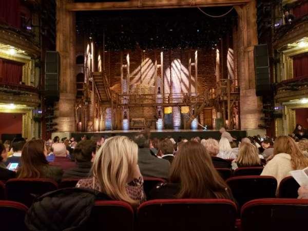 CIBC Theatre, secção: Orchestra C, fila: R, lugar: 108-9