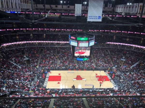 United Center, secção: P2, fila: GA, lugar: GA