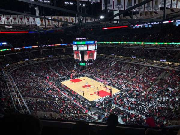United Center, secção: 312, fila: 11, lugar: 14