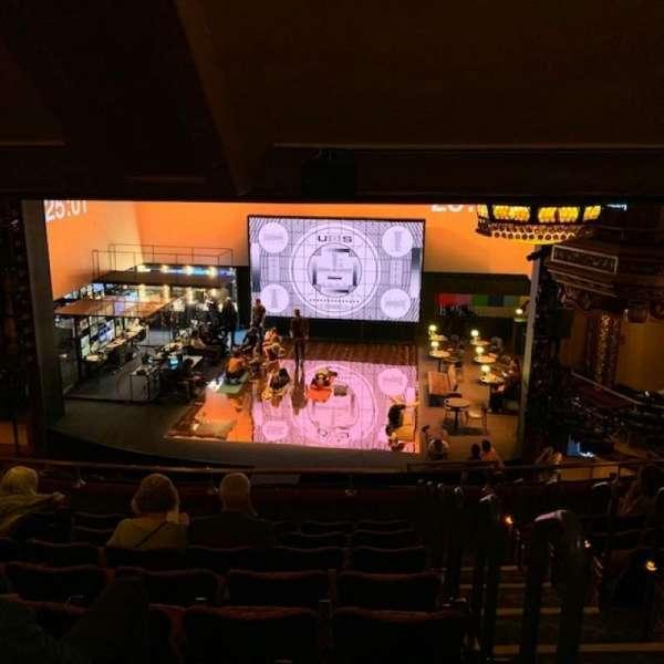 Belasco Theatre, secção: Mezzanine C, fila: H, lugar: 111