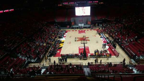 Xfinity Center (Maryland), secção: 120, fila: 19, lugar: 1