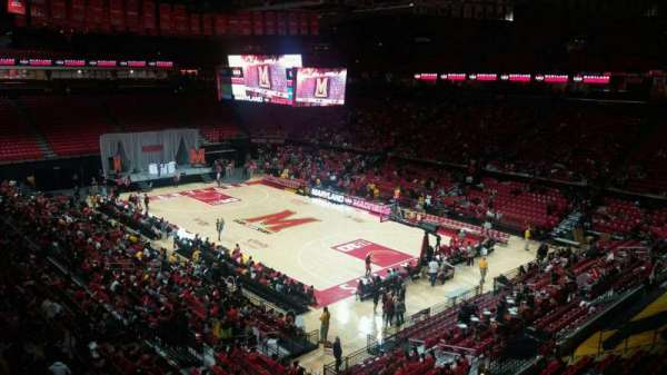 Xfinity Center (Maryland), secção: 118, fila: 17, lugar: 17