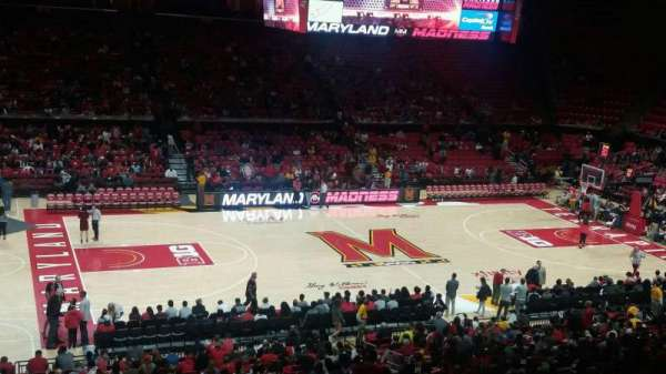 Xfinity Center (Maryland), secção: 113, fila: 18, lugar: 19