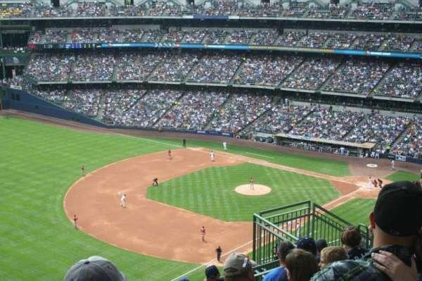 American Family Field, secção: 435, fila: 15, lugar: 10