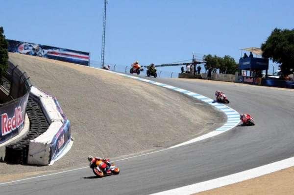 WeatherTech Raceway Laguna Seca, secção: Turn 8