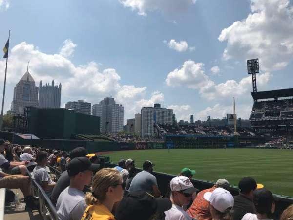 PNC Park, secção: 135, fila: D, lugar: 1