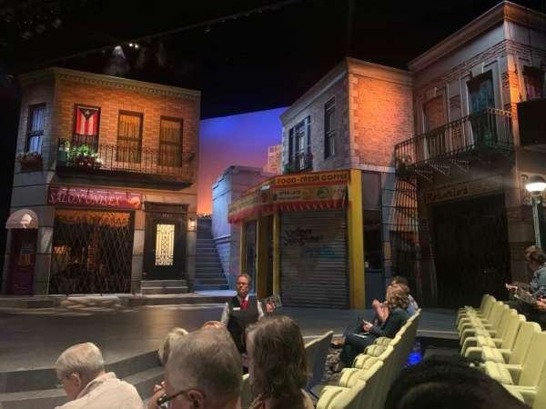 Wyly Theatre at the Dallas Theater Center, secção: Orchestra, fila: C, lugar: 114