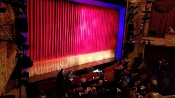Longacre Theatre, secção: Mezzanine L, fila: A, lugar: 18