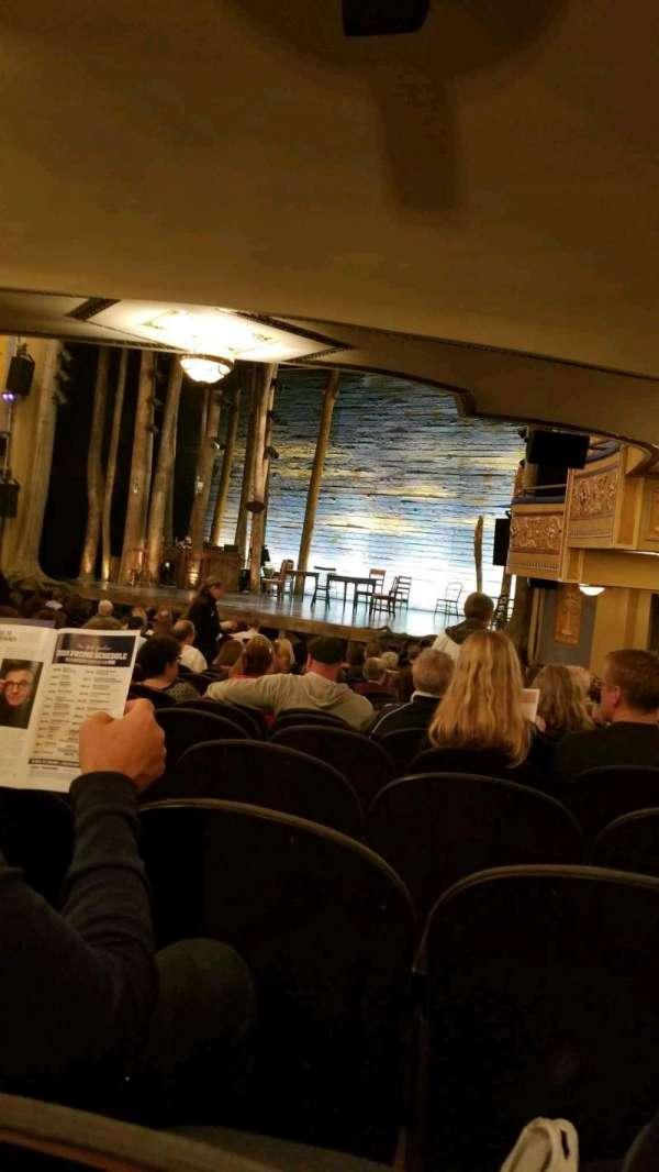 Gerald Schoenfeld Theatre, secção: orchestra r, fila: R, lugar: 26