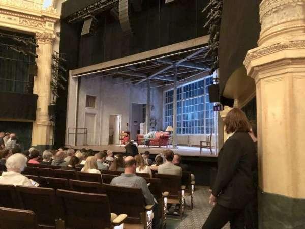 Hudson Theatre, secção: Orchestra R, fila: M, lugar: 10