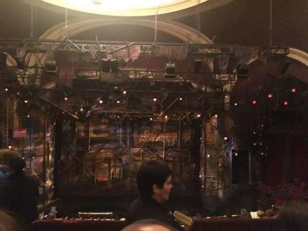 Broadway Theatre - 53rd Street, secção: Rear Mezzanine C, fila: B, lugar: 117