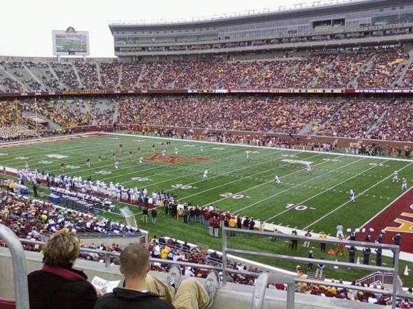 TCF Bank Stadium, secção: 204