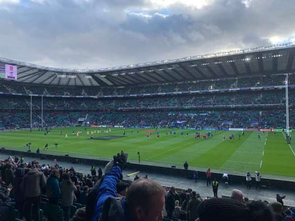 Twickenham Stadium, secção: L22, fila: 27, lugar: 108
