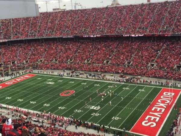 Ohio Stadium, secção: 29C, fila: 34, lugar: 8